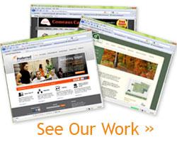 Baton Rouge web design portfolio